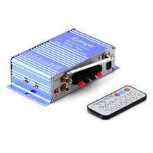12V HiFi Super Bass Stereo Audio Car Amplifier/ Auto Sound Enlarger car auto amplifiers Hot Worldwide