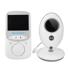 NEW 2.4'' 2.4G Digital Wireless Night Vision Baby Monitor LCD Audio Video Security Camera 2 Way Talk Temperature Monitor(China)