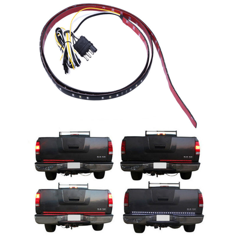 Truck TailGate Turn Signal Brake Car Door Light Rear Taillight SUV Offroad LED Light Strip<br><br>Aliexpress