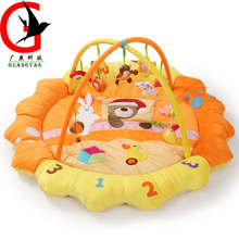 Large Baby Soft Play mat Game Blanket Pad Kids Play Frame Educational Baby Toys Climb Mat Crawling Baby Gym Blanket KQK-1