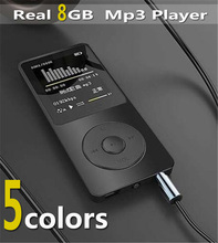 "High quality real 8GB 80 Hours lossless Music MP3 player 1.8"" TFT screen MP3 E-book photo Music FM radio"