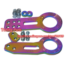 Neo Chrome Tow Hook Rainbow Benen Tow Hook Front And Rear Tow Hook High Quality Towing Bar(China)