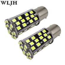 WLJH 2x BAY15D Canbus Car Led 2835 SMD 1157 Rear Tail Stop Brake Light Signal Lamp for Chevrolet Aveo Aveo5 Optra Metro Sprint