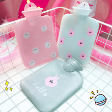 Saim Cartoon Hot Water Bottles Lovely Cat Water-Filling Hot Water Bag Rubber Winter Hand Warmer Water Bottles Portable Hand Po(China)