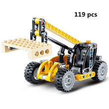 Buy 119pcs Diy Decool 3347 Technic Series Crane Truck Model Building Set Blocks Brick Children Toys Christmas Gift Brinquedos for $6.98 in AliExpress store