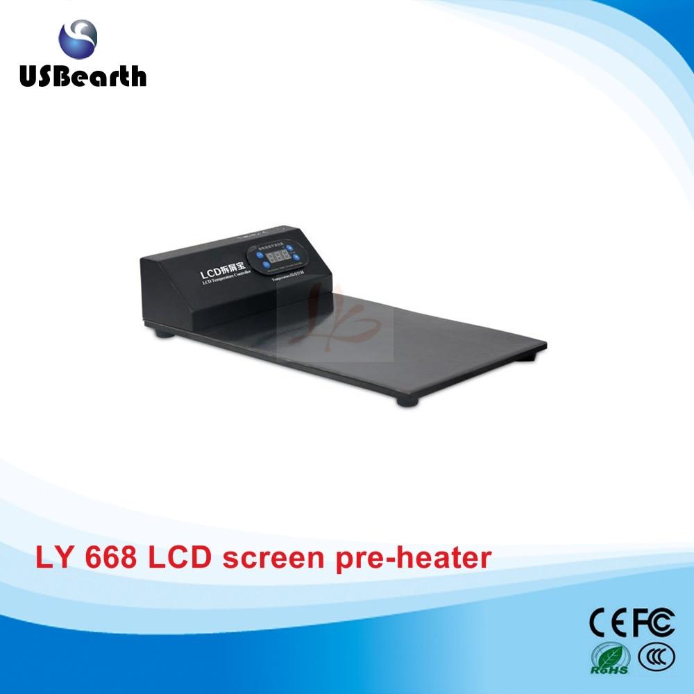 LY 668 preheater heater plate preheating station lcd separator 220V 110V 350W<br>
