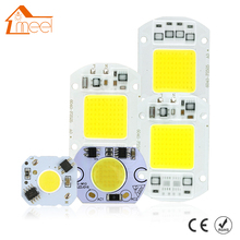 COB LED Lamp Chip 5W 10W 20W 30W 50W LED COB Bulb Lamp 220V IP65 Smart IC Driver Cold/ Warm White LED Spotlight Floodlight