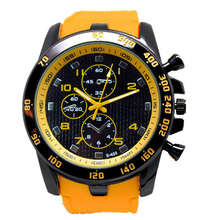 New Stainless Steel Sport Men's Watch Analog Quartz Hour Military Relogio Modern Men clock masculino S9224
