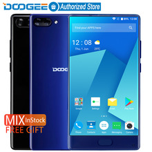 Buy Stock DOOGEE MIX bezel-less Smartphone Dual Camera 5.5'' AMOLED MTK Helio P25 Octa Core 4GB/6GB+64GB mobile phones Android 7 for $173.22 in AliExpress store