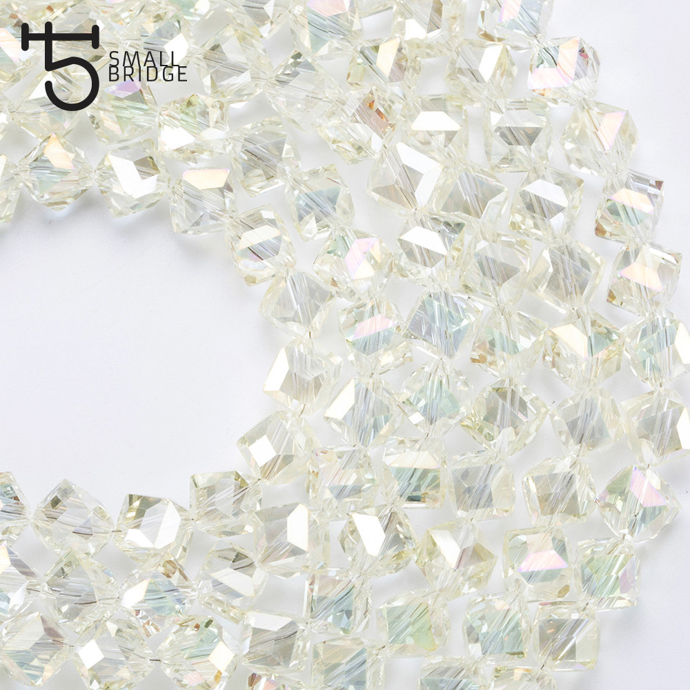Square Glass Beads (5)