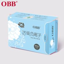 OBB New Anion Sanitary Napkins Pads 6pcs One Pack 350mm Sanitary Towels Cotton Disposable Leakproof 350mm Overnight Safe Use