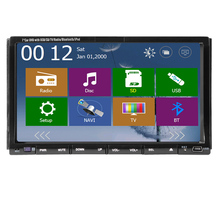 3D Music Logo SD MAP In Deck Auto FM AM GPS Car DVD EQ MP5 RDS win8 Autoradio Stereo Double Din System Radio Player