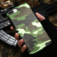 KISSCASE Case For iPhone 5S 7 6 6s Plus 5 5S SE Case Cool Camouflage Grain PU Printed Cover For iPhone 7 6s 7 Plus Coque Cover(China)