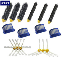NTNT Free Post New AeroVac Filter & 3/6 Brush Kit for iRobot Roomba 600 Series 620 630 650 660 670(China)