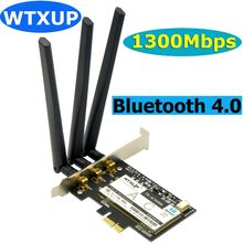 Wtxup Broadcom BCM943602CS 1750 Мбит/с 802.11ac Беспроводной PCI-E Wi-Fi адаптер PCi Express Настольный ПК Dual Band карты + Bluetooth 4,0(China)