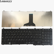 French keyboard For toshiba Satellite C650 C655 C655D C660 C670 L650 L655 L670 L675 L750 L755 l755d Black laptop Fr Keyboard(China)