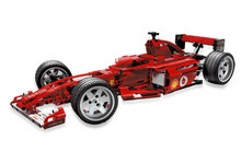 Bricks Toy bricks China brand 3334 Compatible with Lego Racers: Ferrari F1 Racer 1:10 Scale 8386(China)
