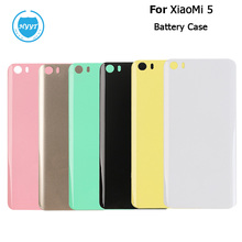 For XiaoMi mi 5 Battery Case Durable Glossy Protective Back Case Replacement For XiaoMi mi 5 Mobile Phone Accessories Popular