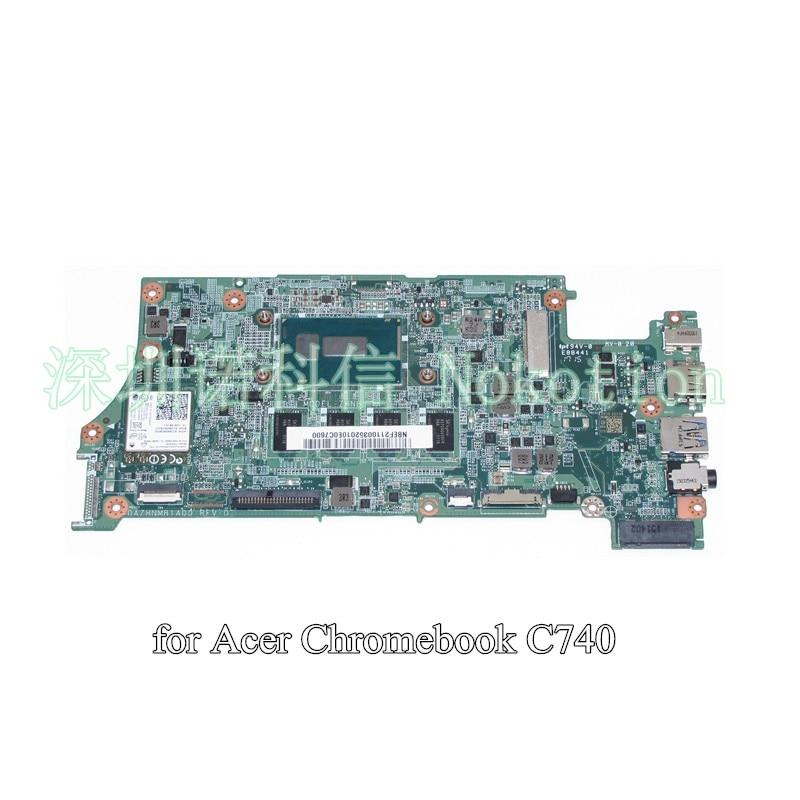 laptop motherboard for acer Chromebook C740 NBEF211003 NB.EF211.003 DA7HNMB1AD0 3205U cpu 4g ram on board<br><br>Aliexpress