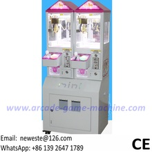 Very Popular Coin Operated Arcade Games Mini Prize Gift Small Toy Cranes Claw Machine For Malls(China)