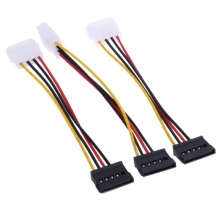 3pcs IDE to Serial ATA SATA Hard Drive Power Adapter Cable IDE to SATA Power Cable Extenders