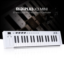 X3 mini 37-key USB MIDI Keyboard Controller LED Display with USB Cable(China)