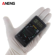 ANENG Mini Pocket Digital Multimeter with Alarm Protection against Voltage Ampere Ampere Ohm AC DC LCD Portable LCD
