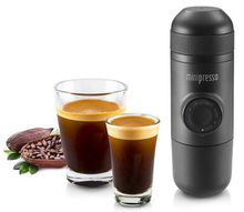 Manual Minipresso Espresso Maker Outdoor Camping Coffee Machine - COFFEE POWDER
