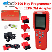 DHL Free Original X100 Pro Auto Key Programmer Xtool X 100 Pro Car Key Maker Full Set X-100 With EEPROM Adapter Pin Code Service