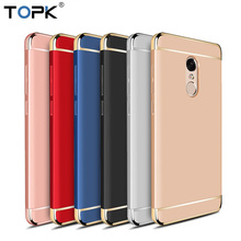 For Xiaomi RedMi Note 4 Case, TOPK Luxury 3-IN-1 Shockproof Frosted Shield Hard Back Cover Case for Xiaomi Redmi Note 4X(China)
