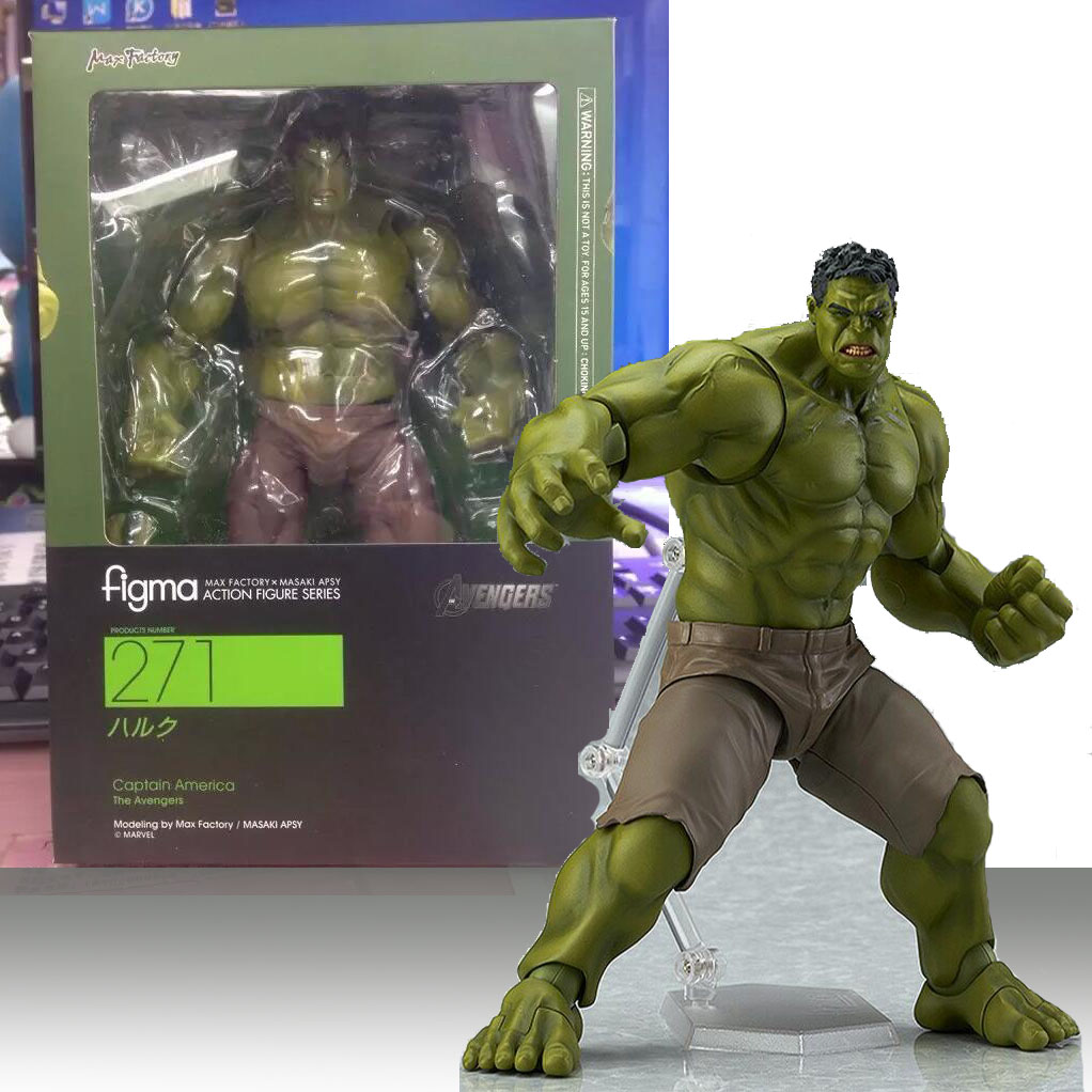 Set 4 pcs New The Avengers The Incredible Hulk PVC Action Figures Toy Kids Gift