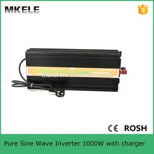 MKP1000-122B-C micro size 12v 220v inverter 1000w power inverter circuit 12v 220v pure sine wave inverter usb 5vdc with charger(China)