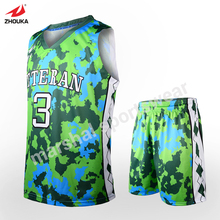 available design sketch green color basketball jersey maker where can i buy basketball jerseys basketball uniform designer(China)