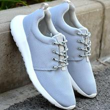 2017 New Spring and Summer Men's Casual Shoes Flat  chaussure homme Korean Breathable Air Mesh Men Shoes Zapatos Hombre No logo