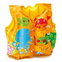 Intex Fun Fish Child Swim Vest Safety PVC inflatable life jacket swimsuit swim Vest Kids