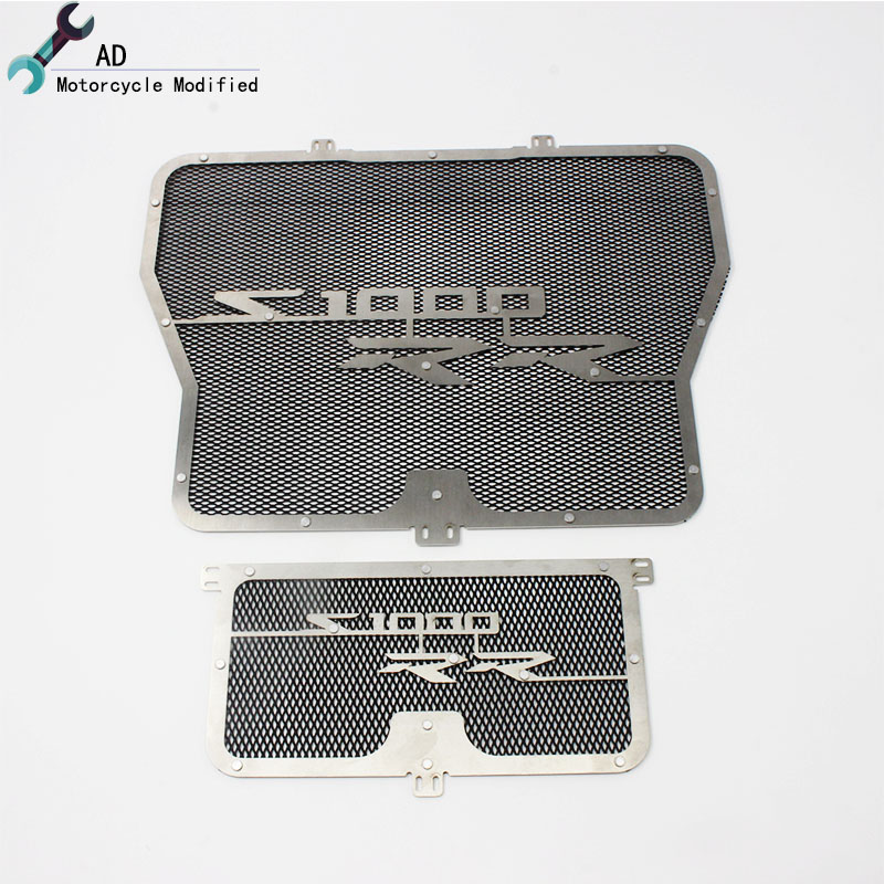 For BMW S1000RR Grill Radiator Oil Cooler Guard 2009 2010 2011 2012 2013 2014 2015 2016 Cover Protector Grille Motorcycle #<br>