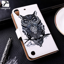 Flip Leather Phone Covers Cases For HTC Desire 530 630 601 619D 606 600 606W 700 709D 7088 7060 Case Cover Card Holders Bags