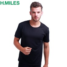 HMILES Mens Sports t shirt Soccer Jersey Cool Running Shirts Moisture Wicking Athletic Compression Baseball Tech Tee Gym Top(China)