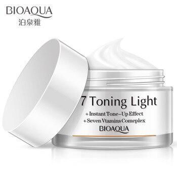 Bioaqua tone up effetto new face crema crema istante vitamine complesse di riparazione cura della pelle del viso giorno creme & moisturizers viso cura