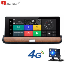 Junsun E26 Pro 4G Car DVR Camera GPS ADAS 7'' Android 5.0 Car camera FHD 1080P Video Recorder Registrar Dashcam Parking Monitor(China)