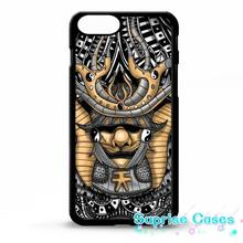Samurai mask helmet mask tattoo graphic Case Cover for iphone 5s 5c SE 6 6s 6plus 7 7plus Samsung galaxy note7 s3 s4 s5 s6
