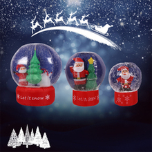 Inflatable Christmas Snowball Toys Tree Snowman Snow Globe Yard Decoration Supplies Three Sizes