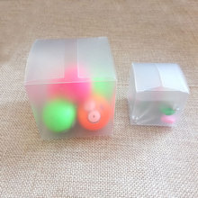 50pcs Plastic Frosted PVC Box Waterproof Gift Boxes PVC Packaging Box For jewelry/Candy/toys Wedding Party supplies(China)