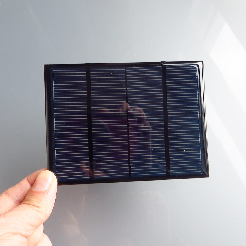 1pc x 12V 100mA 1.5W Mini monocrystalline polycrystalline solar Panel small solar cell 18V charger for 12V battery(China)
