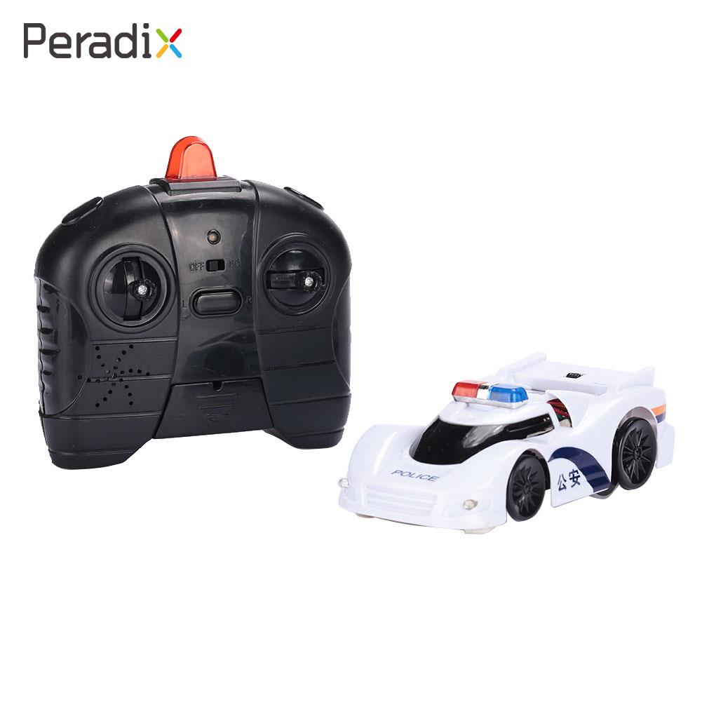 Peradix RC Car Dirt Car White ABS Decoration Racing Car Remote Control