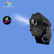 Great Quality Powerful Waterproof IP65 Advertising 4 Images Change in Turn Large 80W LED Logo Projector 10000 Lumens Projector