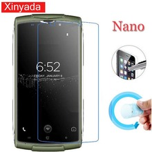 Buy Xinyada Nano Explosion-proof Protective Film Guard Soft Clear Screen Protector HOMTOM ZOJI Z7 Tempered Glass for $1.39 in AliExpress store
