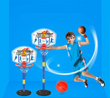Indoor Outdoor 3 Section Height Adjustment Child Basketball Sport Set Game Toy Child Fitness Toys Basketball Stands shelf gift