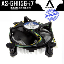 ALSEYE Copper and Aluminum Heatsink CPU cooler with 90mm PWM 4pin CPU Fan for i3/i5/i7, LGA 1150/1151/1155/1156