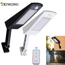 Solar-Light Led Garden-Wall Four-Modes Waterproof Outdoor Pole 900lm for 48 Newest Rotable